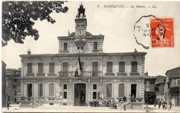 GARDANNE - La Mairie - Cachet Gap A Marseille  (1434 ASO) - Francia