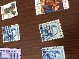 USA PRESIDENTE AZZURRO 1 VALORE - Timbres