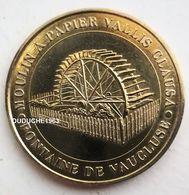 Monnaie De Paris 84.Fontaine Du Vaucluse - Moulin à Papier 2008 - Monnaie De Paris
