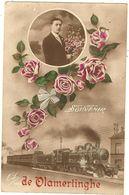 BELGIQUE -  Souvenir De  VLAMERTINGHE (train )  113 - Sonstige