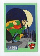 - CHROMO / AUTOCOLLANT LA VACHE QUI RIT - Série BATMAN 1995 - Vignette 1 ROBIN - - Trade Cards