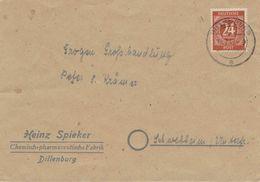 Heinz Spieker Chem.-pharm. Fabrik - Dillenburg 1947- Pfg. All. Bes. - Pharmazie