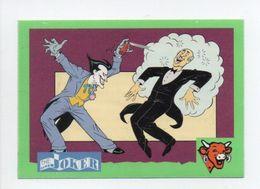 - CHROMO / AUTOCOLLANT LA VACHE QUI RIT - Série BATMAN 1995 - Vignette 10 THE JOKER - - Trade Cards