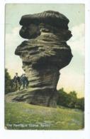 Nottinghamshire  Postcard Nottingham The Hemlock Stone Beeston   Squared Circle Posted 1907 - Nottingham