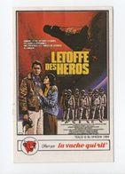 - CHROMO / AUTOCOLLANT LA VACHE QUI RIT - Série CINÉMA 1984 - Mini-affiche L'ETOFFE DES HEROS - - Trade Cards