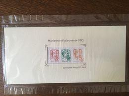 FRANCE BLOC SOUVENIR 82 MARIANNE ET LA JEUNESSE 2013 SOUS BLISTER - Bloques Souvenir