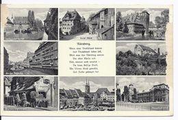 DT- Reich (000910) Ansichtskarte Nürnberg Mit Propagandastempel Marschstaffel, Gau- Sachsen, 9.9.1937 - Storia Postale