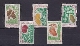 MAURITANIA - 1967 FRUITS / PLANTS - 5V - MINT NH - Frutta