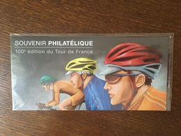 FRANCE BLOC SOUVENIR 81 CENTENAIRE TOUR DE FRANCE 2013 SOUS BLISTER CYCLISME - Bloques Souvenir