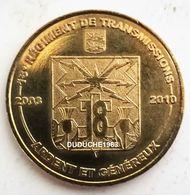 Monnaie De Paris 14.Bretteville - 18ème Régiment De Transmissions 2009 - Monnaie De Paris