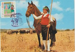 Carte Maximum PORTUGAL N°Yvert 1509 (FOLKLORE) Obl Sp Ill 1981 - Tarjetas – Máximo