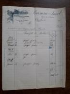L24/176 Ancienne Facture. Charolles. Brasserie Jacob . 1918 - France