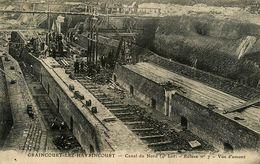 Graincourt Lez Havrincourt * Canal Du Nord ( 4ème Lot ) écluse N°7 * Vue D'amont * Travaux - France