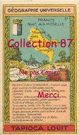 ☺♦♦ TAPIOCA LOUIT N°21 < MOSELLE  - GEOGRAPHIE CHROMO PUBLICITAIRE - PUBLICITE - Géographie