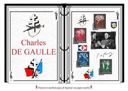 Albums De Timbres à Imprimer   Charles DE GAULLE - Stamps