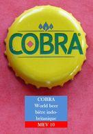 Cobra - World Beer  Bière Indo-britannique (parfait état - Pas De Trace De Décapsuleur) MEV10 - Bière
