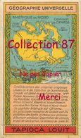 ☺♦♦ TAPIOCA LOUIT N°20 < CANADA < AMERIQUE Du NORD - GEOGRAPHIE CHROMO PUBLICITAIRE - PUBLICITE - Géographie