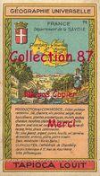 ☺♦♦ TAPIOCA LOUIT N°19 < SAVOIE - GEOGRAPHIE CHROMO PUBLICITAIRE - PUBLICITE - Géographie