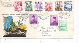 Indonésie ( Lettre En Exprès De 1957 De Bandung Vers Les Pays-Bas à Voir) - Indonesia