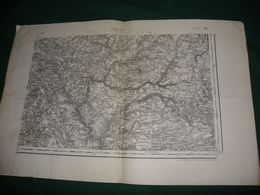 CARTE D ETAT MAJOR :  USSEL S. E. - Topographical Maps