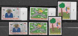 Nederland - 1987 - Yv.1298/1300 - Mi.1328/1330 - **  En O - Kinderzegels. - Periodo 1980 - ... (Beatrix)