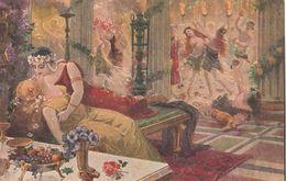 Cartolina - Postcard / Non  Viaggiata - Unsent /  Anichini Ezio - Quo Vadis. - Malerei & Gemälde