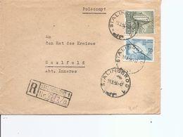 Pologne ( Lettre Recommandée De 1956 De Stalinogrod Vers L'Allemagne  à Voir) - 1944-.... Republic