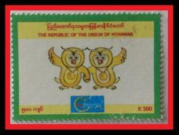 089. BURMA (K500)  USED STAMP - Myanmar (Birmanie 1948-...)