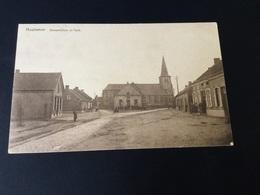 CP Houtvenne Maison Communale Et église ~1939 - Hulshout