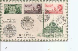Egypte ( Vol Spécial LeCaire Vers La Belgique De 1949 à Voir) - Egypt