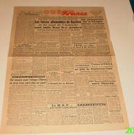 Ouest-France Du 7 Mai 1945.(Capitulation-Oléron-les Miliciens De La Rochelle) - Français