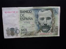 ESPAGNE : 1000 PESETAS   23 - 10 - 1979         CB 208 * / P 158     TTB+ - [ 4] 1975-… : Juan Carlos I