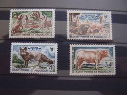 Saint Pierre Et Miquelon 1964 Animaux 372-75 4 Val ** NEUF SANS CHARNIERE - St.Pierre & Miquelon