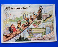 Humorvolle Postkarte VOM OKTOBERFEST München Deutschland-Carte Postale Humoristique Fête De Bière OTTOBERFEST Allemagne - Muenchen