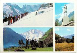 #846  Views Of The Foot Of Mount Elbrus, Kabardino-Balkaria - RUSSIA -  Postcard 1986 - Russia