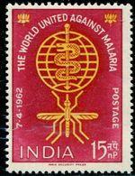 AP1815 India 1962 Prevention Of Malaria 1V - Salute