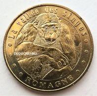 Monnaie De Paris 86.Romagne - Vallée Des Singes 3 Chimpanzé 2006 - Monnaie De Paris