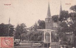 PAYS-BAS 1904 CARTE POSTALE DE DELFT OOSTPOORT - Delft