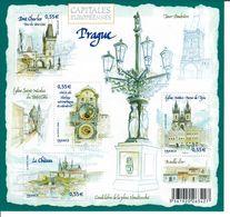 BLOC YT BF 126 (2008)  Capitales Europeennes Pragues N** - Nuovi