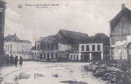 CPA - Ruines De Menin (Guerre 14-18) - Rue D'Ypres - Nels - 1919 - Menen