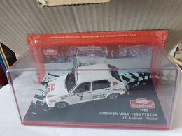 "CITROEN VISA 1000 PISTES J.C ANDRUET - ""BICHE"" 1985 Sous Blister - Rallye"