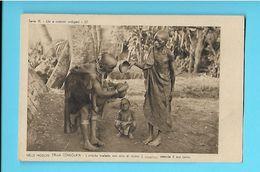 AFRIQUE--AFRICA--- Nelle Missioni Della Consolata-serie III--N°22---l'ambita Toeletta Con Alia Di Ricino--voir 2 Scans - Non Classés
