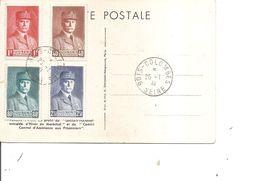 Guerre 40/45 - Collaboration - Maréchal Pétain ( Carte Commémorative De 1941 à Voir) - WW2 (II Guerra Mundial)