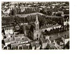 79 St Saint Loup Sur Thouet En Avion Au Dessus De Eglise Edit Lapie CPSM GF - Saint Loup Lamaire