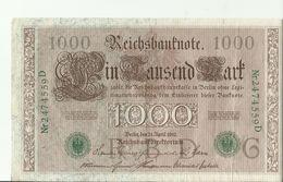 DRr 1000 Mark 1910 - 1000 Mark