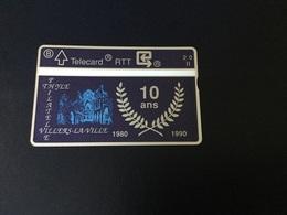 Télécarte Privée Et Neuve De L'Abbaye De Villers La Ville 1990 - Belgio