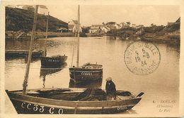 - Finistère - Ref-E606- Doëlan - Le Port - Pêcheur Sure Bateau Alice - Bateaux - Pêche En Mer - - Sonstige Gemeinden