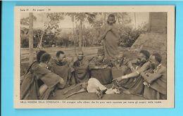 AFRIQUE--AFRICA--- Nelle Missioni Della Consolata-serie III--N°39--gli Scongluri Sulla Vittima Che Fra...--voir 2 Scans - Non Classés