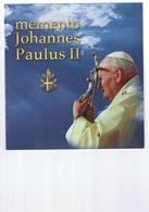 MEMENTO JEAN-PAUL II : Enveloppe Du Vatican 2005 Dans Sa Pochette D'origine. - Papas
