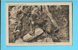 AFRIQUE--AFRICA--- Nelle Missioni Della Consolata-serie III--N°23--la Macinazione Del Miglio--voir 2 Scans - Non Classés